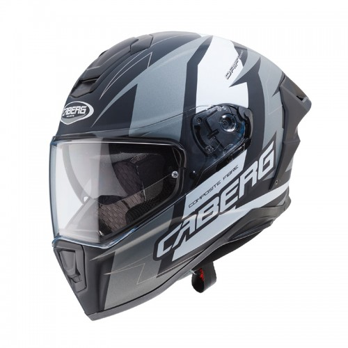 Caberg Drift Evo Speedster MATT BLACK/ANTHRACITE/WHITE