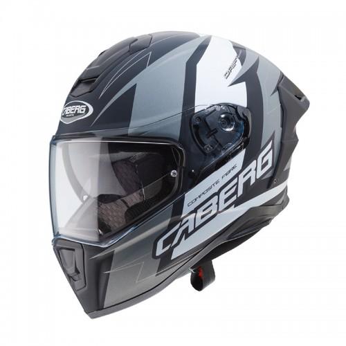 Caberg Drift Evo Speedster MATT BLACK/ANTHRACITE/WHITE