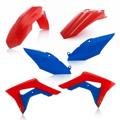 PLASTIC KIT Acerbis _ 22384.344 _ HON CRF450R '17 red-blue