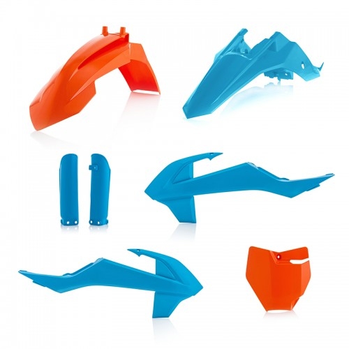 PLASTIC KIT Acerbis _ 21817.204 KTM SX/SXF 16 Orange-Blue