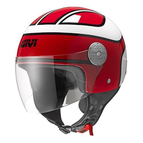 Κράνος Givi H10.7 Demi-Jet Bobber Red