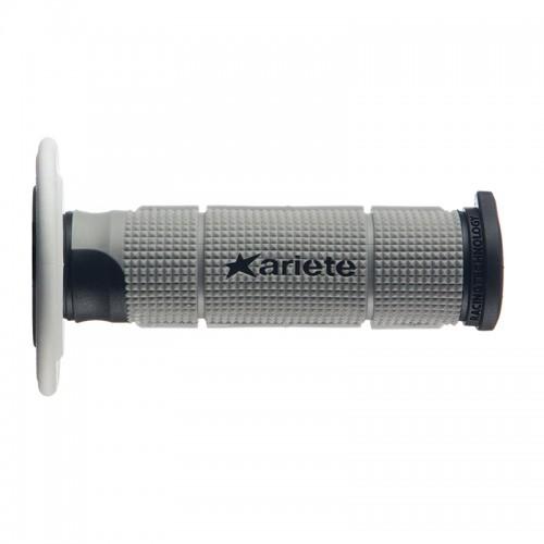 MX Grips Ariete Trinity _ 02614-GRNB_ black-white-grey