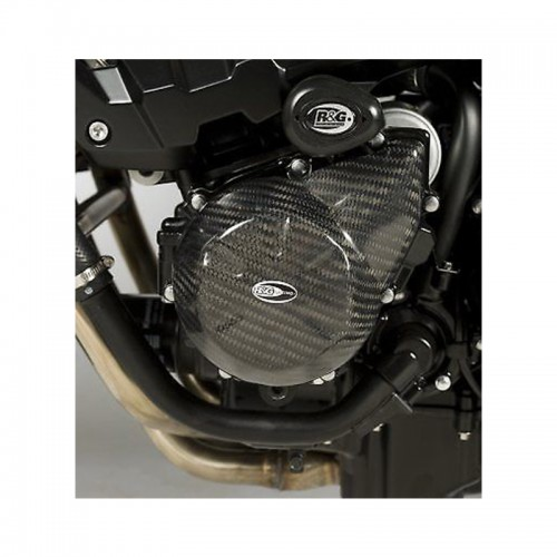 Engine Case Slider R&G _ ECS0014C _ KAW Z750 2007  Carbon (left)