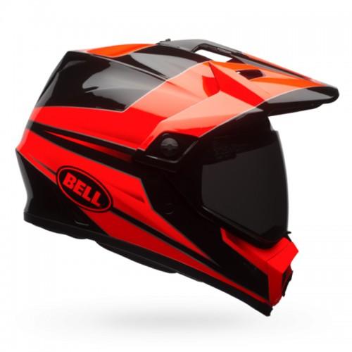 Κράνος Bell MX-9 Adventure Mips Stryker fluo πορτοκαλί