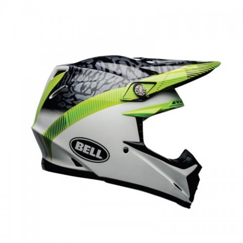 Bell Moto-9 Mips Chief matt/gloss black/white/green