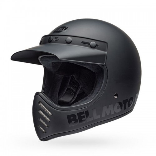 Bell Moto-3 Classic 2019 matt/gloss black