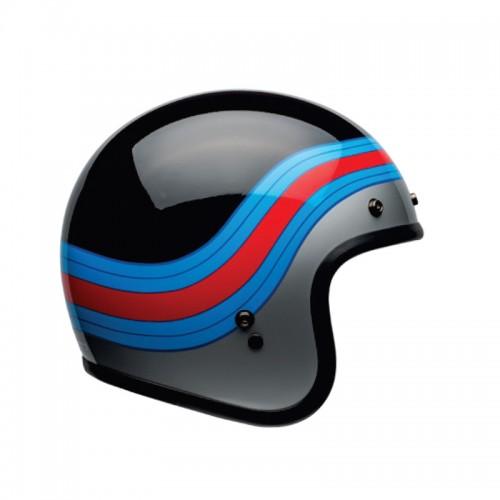 Bell Custom 500 Pulsey gloss black/blue/red