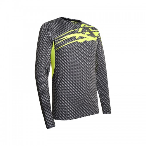 Acerbis Mx Jersey Carbon Titanium X-Flex _ 22912.290 Grey/Yellow