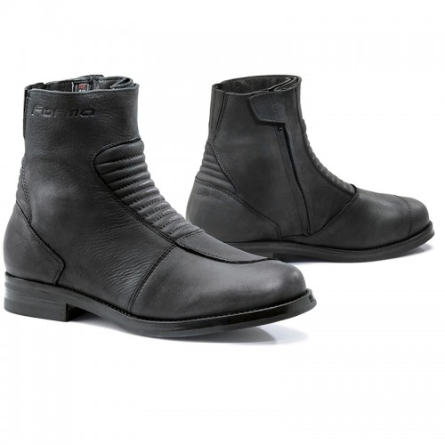 Forma Leather Boots Mito Black