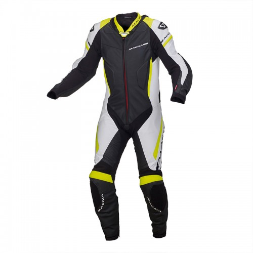 Leather Suit Macna HYPER Overall fluo
