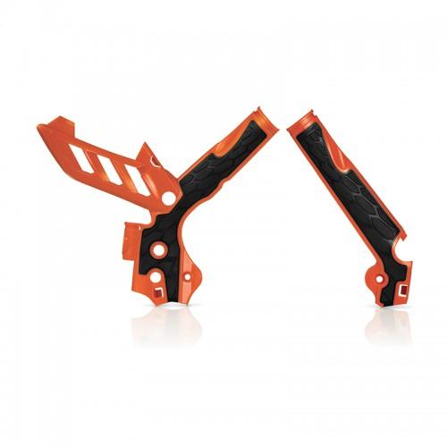 Acerbis X-grip Frame Protector_17813.010 _ KTM SX-EXC '11 Orange