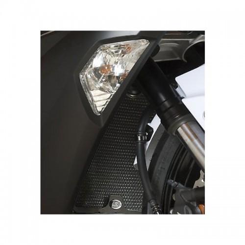Radiator Protector R&G _ RAD0141BK _ KAW ZX636 2013-