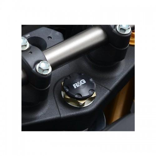 Τάπα διακοσμητική τιμονόπλακας R&G _ YTI0004BK _ 00 14-,YZF-R1 15-,GSX1000S/ABS/FA 15-