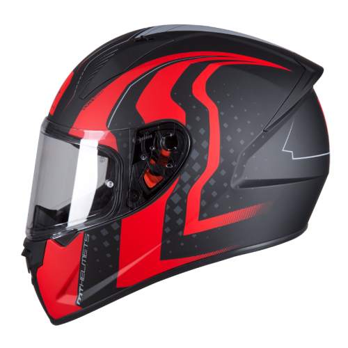ΜΤ Stinger Warhead matte black-red-grey