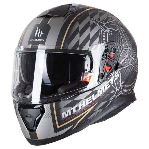 5334fa858 MT Thunder 3 SV Isle of man matte black-gold | Moto Market - Online ...