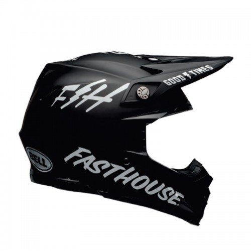 Bell MOTO-9 Mips Fasthouse Black-White