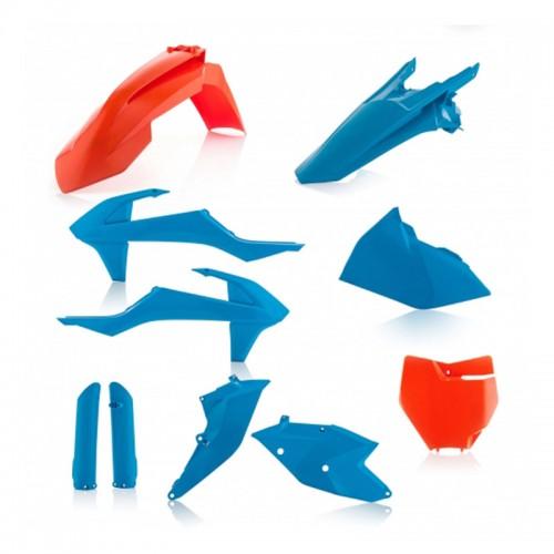 Full Plastic Kit Acerbis _ 21741.204 KTM TLD Orange-Blue