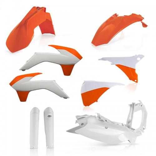Plastic Full Kit Acerbis _ 21811.553 KTM EXC/EXCF 16 original