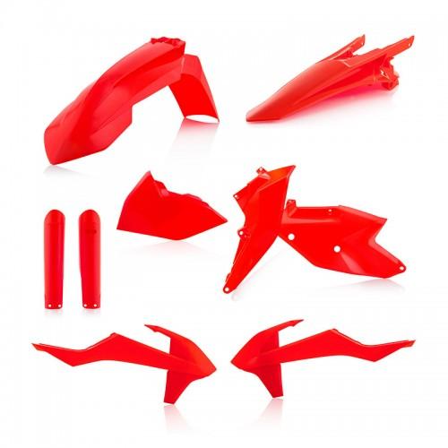 Plastic Full Kit Acerbis _ 22371.014 KTM EXC/EXCF '17 fluo Orange