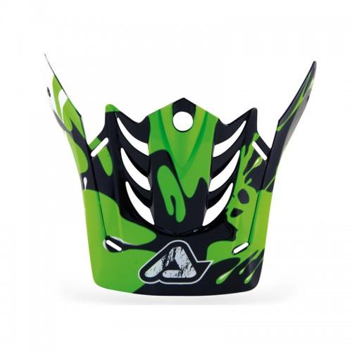 Γείσο X-Fiber Acerbis _ 12967.130 μαύρο-πράσινο