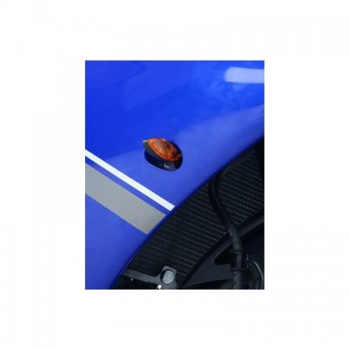 FRONT INDICATOR ADAPT PLATES R&G FAP0003BK YAM YZF-R1 /R1M /FZ-09/MT-07/R3/R25