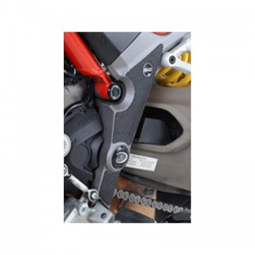 BOOT GUARD KIT R&G EZBG206BL DUCATI Multistrada 1200/S/Enduro/950/1260 3 pieces kit