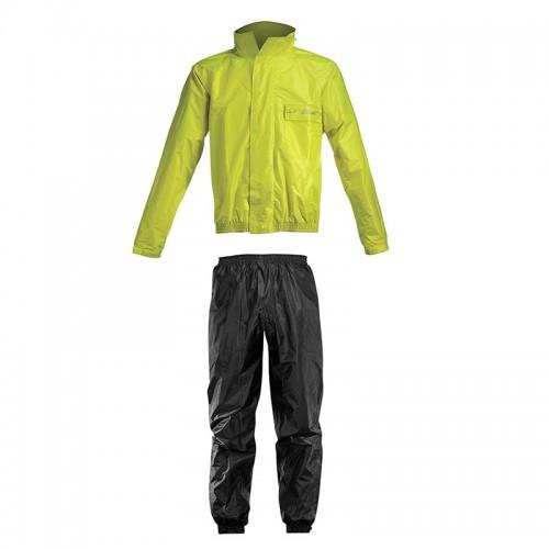 Αδιάβροχο σέτ Acerbis _ Rain Suit Logo_ 16428.318 μαύρο-κίτρινο