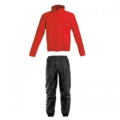 Αδιάβροχο σέτ Acerbis _ Rain Suit Logo_ 16428.349 κόκκινο-μαύρο