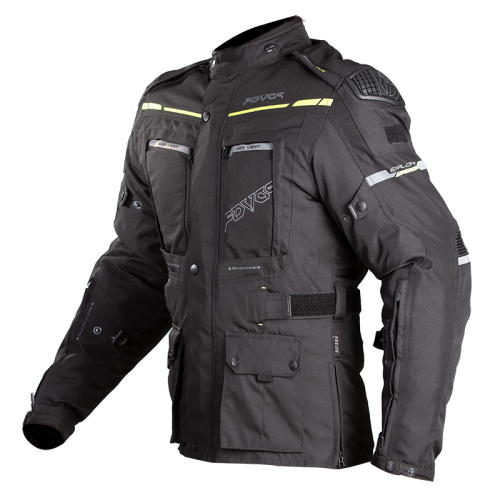 Fovos Explorer Knox jacket black-fluo