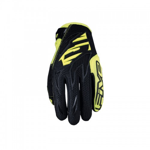 Five MXF3 Gloves black-fluo