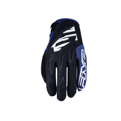Five MXF3 Gloves black-white-blue