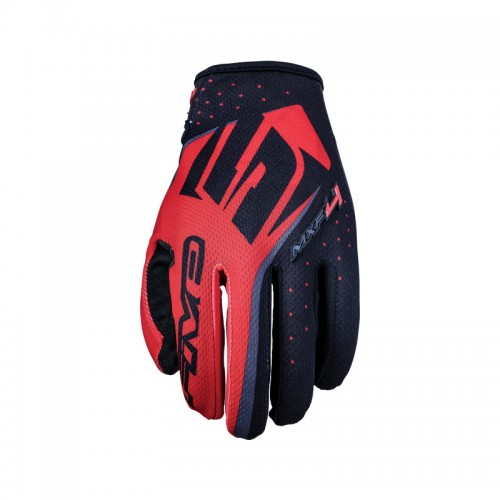Five MXF4 Gloves Red