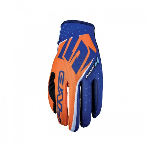Five MXF4 Gloves Orange