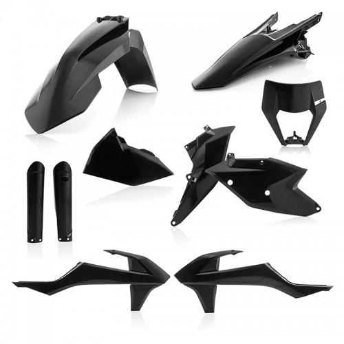 Plastic Kit Acerbis _ 23591.090 _ KTM EXC/EXC-F '19 Black