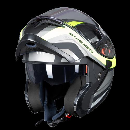 MT Optimus SV Tarmac Black - Fluo Matt