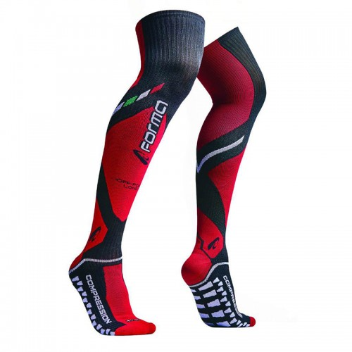 Forma off road socks FORX440 Black-Red