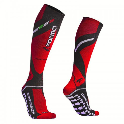 Forma off road Socks FORX430 Black-Red