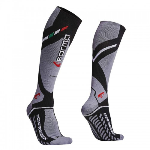 Forma road socks FORX420 Black-Grey