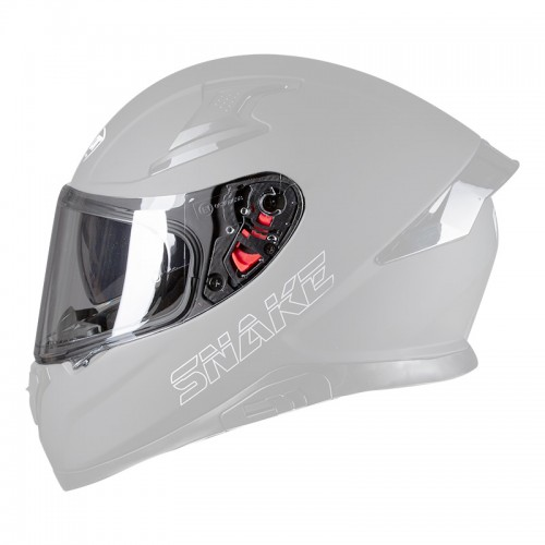 Pilot Snake Visor antiscratch clear
