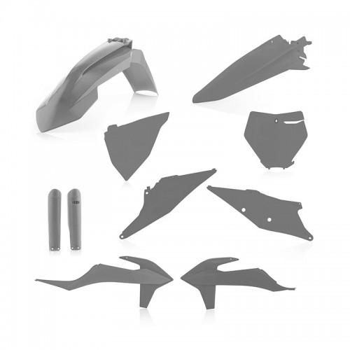 Full Plastic Kit Acerbis _ 23479.070 KTM SX/SXF '19 Grey