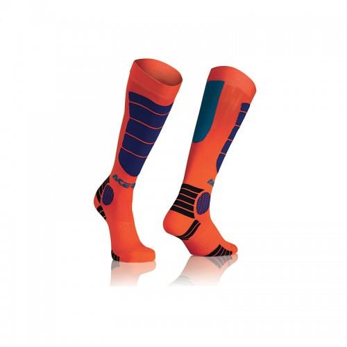 Κάλτσες Acerbis MX Impact Junior _ 21909.204 πορτοκαλί-μπλέ