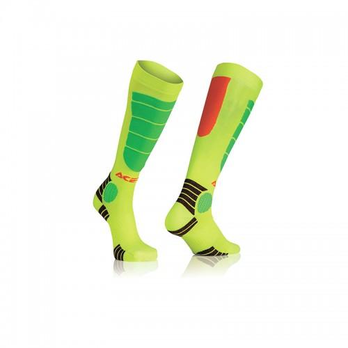 Κάλτσες Acerbis MX Impact Junior _ 21909.206 πορτοκαλί-κίτρινο