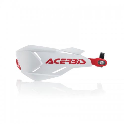 Προστασία χεριών Acerbis X-Factory _22397.239 άσπρο-κόκκινο