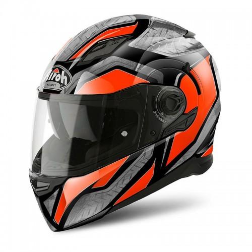 Κράνος Airoh Movement-S Steel πορτοκαλί gloss