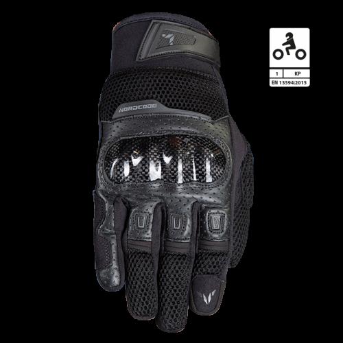 Γάντια Nordcode Air Tech CE EN 13594 μαύρο
