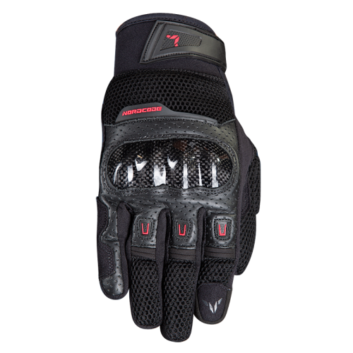 Γάντια Nordcode Air Tech μαύρο-κόκκινο