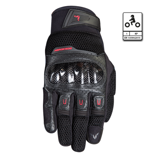 Nordcode Air Tech Gloves Black-Red