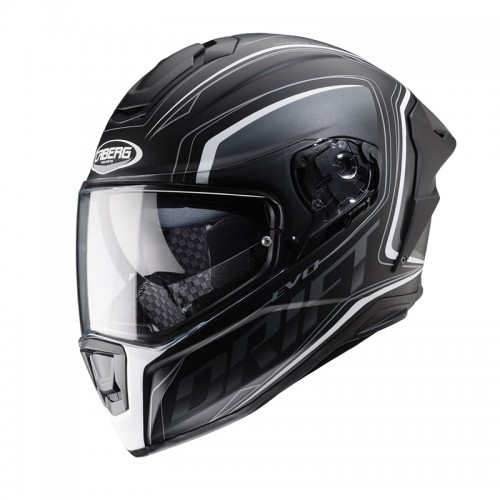 Caberg Drift Evo Integra Black matt-Anthr-White
