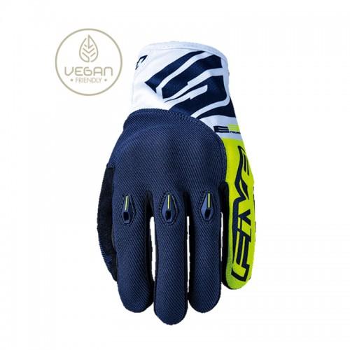 Γάντια Five E3 Evo  fluo κίτρινο-μπλε