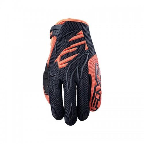 Γάντια Five MXF3 kid μαύρο-fluo πορτοκαλί
